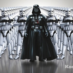 Фотообои Star Wars STAR WARS Imperial Force (3,68х2,54 м)