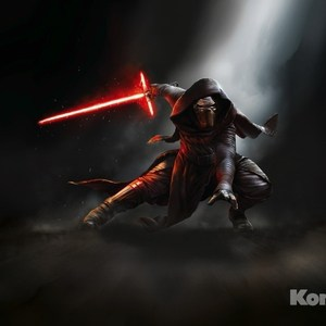 Фотообои Star Wars STAR WARS Kylo Ren (3,68х2,54 м) cosplay star wars kylo ren electronic lightsaber w light