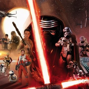 Фотообои Star Wars STAR WARS EP7 Collage (3,68х2,54 м) microsoft kinect star wars
