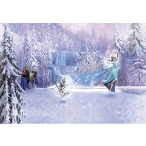 Фотообои Disney Frozen Forest (3,68х2,54 м) фотообои disney minnie colorful 0 73х2 02 м