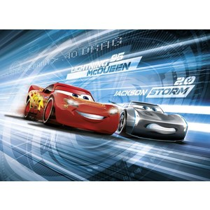 Фотообои Disney Cars3 Simulation (2,54х1,84 м)