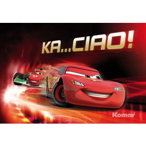 Фотообои Disney Cars Ka Ciao (1,84х1,27 м) disney cars 61 см