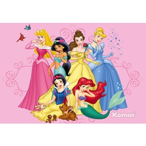 Фотообои Disney Princess (1,84х1,27 м)