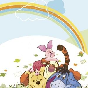 лучшая цена Фотообои Disney Winnie Pooh (1,27х1,84 м)