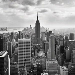 Фотообои Komar NYC Black And White (3,68х2,54 м) (8-323)