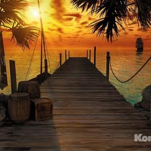 Фотообои Komar Treasure Island (3,68х2,54 м) (8-918)
