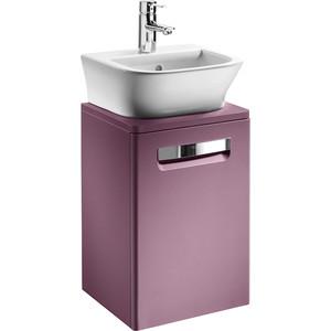 Тумба с раковиной Roca Gap 45 фиолетовая (ZRU9302743 + 327477000)