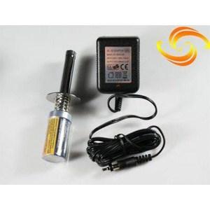 Накал свечи HSP Racing с аккумулятором 1800мАч и зарядным устройством