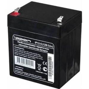 Батарея Ippon IP12-5 12В 5Ah 12v 4 5ah 12v 5 0ah home alarm security system sla battery