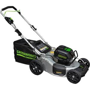 цена на Газонокосилка аккумуляторная самоходная GreenWorks 82V, 51 см (2502607)