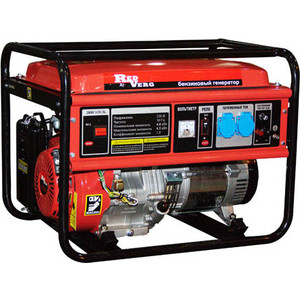 Генератор бензиновый REDVERG RD-G8000ENA цена