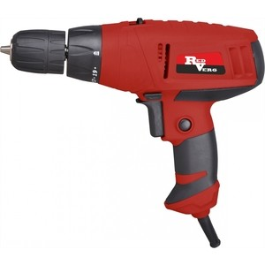 Сетевой шуруповерт REDVERG RD-SD330/2 electric drill screwdriver redverg rd sd330 330 w power torque 15нм 2 speed