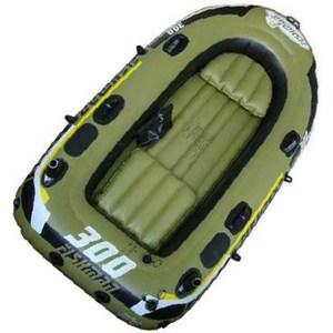 Лодка надувная Fishman 300 SET (весла+насос) JL007208-1N цена 2017