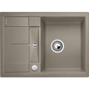 Кухонная мойка Blanco Metra 45S Compact серый беж (519580) кухонная мойка blanco metra 45s compact жемчужный 520570