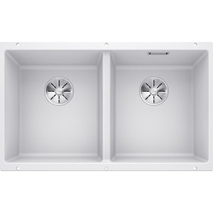 Кухонная мойка Blanco SubLine 350/350-U белый (523578)