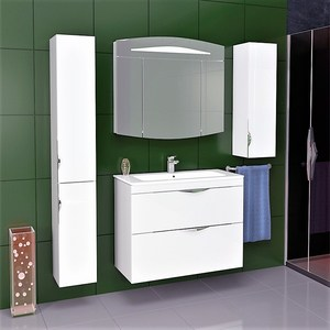 Мебель для ванной Alvaro Banos Alma Maximo 80 белый лак тумба с раковиной alvaro banos alma maximo 80 белый лак 8405 1200 euphoria 80