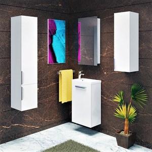Мебель для ванной Alvaro Banos Viento Puerta 40 белый лак