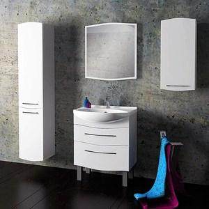 Мебель для ванной Alvaro Banos Carino Maximo 75 белый лак
