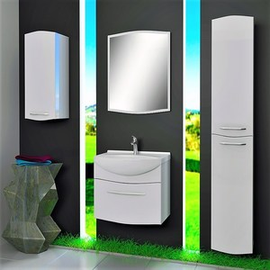 Мебель для ванной Alvaro Banos Carino 65 белый лак