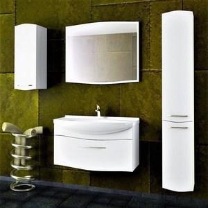 где купить Мебель для ванной Alvaro Banos Carino 85 белый лак по лучшей цене
