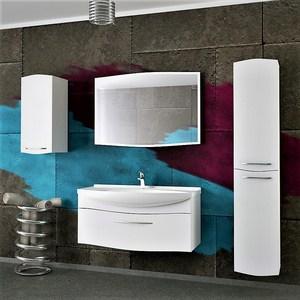 Мебель для ванной Alvaro Banos Carino 105 белый лак