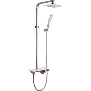 Душевая система IDDIS Alps c смесителем для ванны и верхней лейкой 24,5x17 см (ALPSB1Fi06)