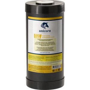 Картридж Unicorn FCST 10ВВ для умягчения воды с ионнообменой смолой удаления солей жесткости