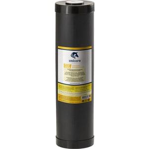 Картридж Unicorn FCST 20ВВ для умягчения воды с ионнообменой смолой удаления солей жесткости