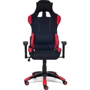 цена на Кресло TetChair iGear ткань, черный/красный