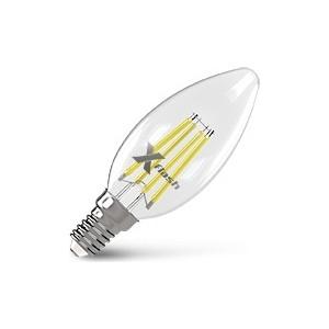 купить Филаментная светодиодная лампа X-flash XF-E14-FL-C35-4W-4000K-230V (арт.48649) по цене 198.5 рублей