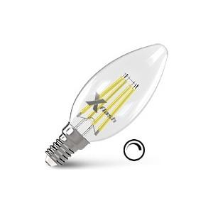 купить Филаментная светодиодная лампа X-flash XF-E14-FLD-C35-4W-2700K-230V (арт.48694) по цене 298.5 рублей