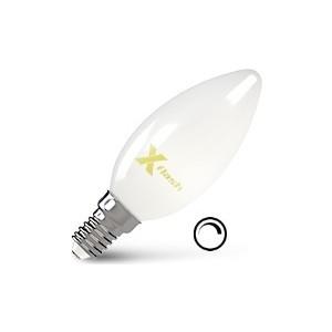 Филаментная светодиодная лампа X-flash XF-E14-FLMD-C35-4W-2700K-230V (арт.48700) филаментная светодиодная лампа x flash xf e27 fl c35 4w 2700k 230v арт 48861