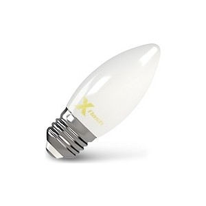 Филаментная светодиодная лампа X-flash XF-E27-FLM-C35-4W-2700K-230V (арт.48519) лампа светодиодная филаментная ul 00001818 uniel e27 4w 2250k прозрачная led g95 4w golden e27 cw glv21go