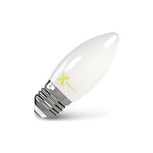 Филаментная светодиодная лампа X-flash XF-E27-FLM-C35-4W-4000K-230V (арт.48526) цена