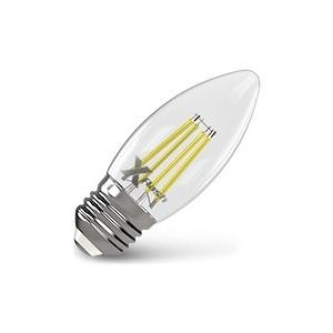 Филаментная светодиодная лампа X-flash XF-E27-FL-C35-4W-2700K-230V (арт.48861) лампа светодиодная филаментная ul 00001818 uniel e27 4w 2250k прозрачная led g95 4w golden e27 cw glv21go