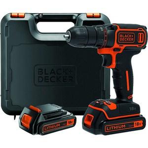 Дрели-шуруповерты аккумуляторные Black+Decker BDCDC18KB
