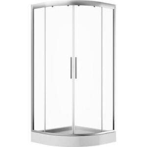 Душевой уголок Am.Pm Like Twin Slide 100х100 прозрачный, хром (W80G-301-100MT) стекла для душевого ограждения am pm like w80g 301a090mt