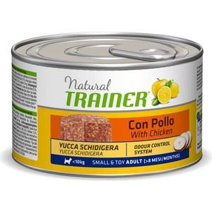 Консервы Trainer Natural Small & Toy Adult with Chicken с курицей для взрослых собак мелких и миниатюрных пород 150г