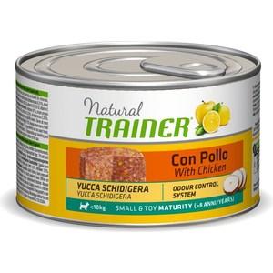 Консервы Trainer Natural Small & Toy Maturitry with Chicken с курицей для пожилых собак мелких и миниатюрных пород 150г