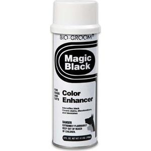 Спрей BIO-GROOM Magic Black Color Enhancer черный выставочный для кошек и собак 236мл (51908) шампунь для кошек и собак bio groom so gentle гипоаллергенный 3 8 л