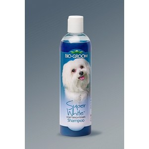 Шампунь BIO-GROOM Super White Shampoo супер белый осветляющий для собак 355мл (21112)