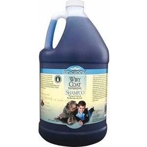 цена на Шампунь BIO-GROOM Wiry Coat Shampoo текстурирующий без слез для жесткой шерсти для собак 3,8л (22028)