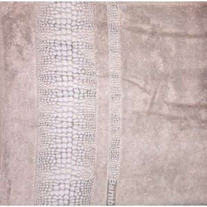 Полотенце Brielle Bamboo Crocodile 70x140 mocha мокко (1213-85605) полотенце brielle garden pink 70x140 розовый 1204 85303