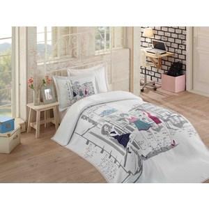 Детское постельное белье Hobby home collection 1,5 сп с покрывалом жаккард Vienna постельное белье 2 сп hobby home collection