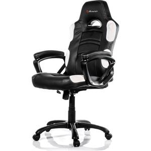 Компьютерное кресло для геймеров Arozzi Enzo white кресло компьютерное tetchair энзо enzo доступные цвета обивки искусств чёрная кожа синяя сетка