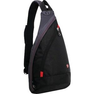 Рюкзак городской Wenger MONO SLING с одним плечевым ремнем черный/серый (1092230)
