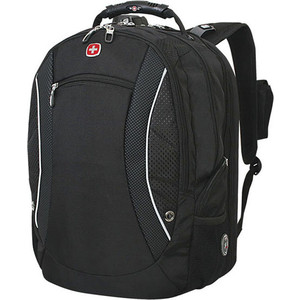Рюкзак дорожный Wenger SCANSMART черный (1155215) рюкзак wenger scansmart цв черный полиэстер 33х26х47 см 40л 945796
