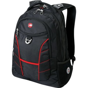 Рюкзак дорожный Wenger RAD черный/красный (1178215)