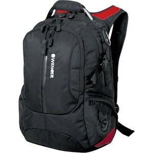Рюкзак дорожный Wenger LARGE VOLUME DAYPACK черный/красный (15912215)