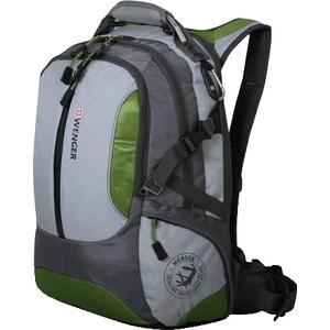 Рюкзак дорожный Wenger LARGE VOLUME DAYPACK зелёный/серый (15914415)